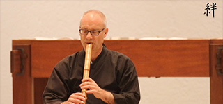 zum YouTube Video: Shakuhachi Kyushu Reibo, Jürg Zurmühle